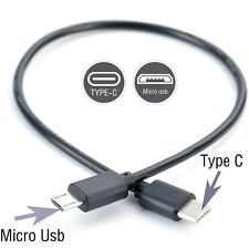 Type C (USB-C) to Micro USB Male Sync Charge OTG CHARGER Cable Cord Adapter GM