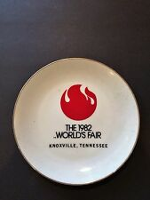 "Vintage Decorative Collector Plate 8"" 1982 Worlds Fair Knoxville, TN"