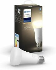 More details for 1 x philips hue smart bulb - a67 / e27 15.5w - bluetooth - soft white - new