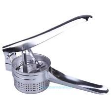 Stainless Steel Potato Masher Ricer Puree Vegetable Fruit Juicer Press Maker