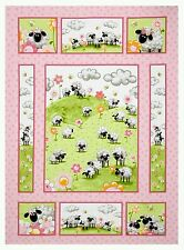 SUSYBEE * LAL THE LAMB QUILT PANEL * NEW *   GORGEOUS * FREE POST * 🐑