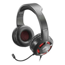 Speedlink Casad Stereo Gaming Headset With Flexible Microphone Dual 3 5Mm Jack