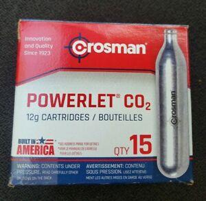 Crosman C2315 12-Gram CO2 15 Cartridges