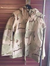 PARKA, COLD WEATHER, DESERT CAMOUFLAGE, GORTEX  NEW WITH TAGS