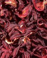100g Whole Dried Hibiscus For Tea Or Tortoise Food Grade Non Irradiated SUPER