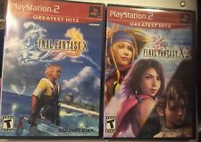 ** Final Fantasy X and Final Fantasy X-2 for the PS2 (Brand New and Sealed)