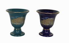 2 items Pythagoras cups of justice Tantalus cup - Acropolis Parthenon Greece