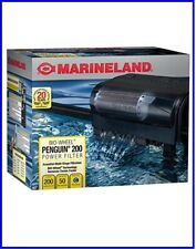 MarineLand Penguin 200 Bio-Wheel Power Filter 30-50 Gallon, 200 GPH