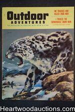 Outdoor Adventure Mar 1956 Eve Meyer, Doug Allen Cvr - High Grade- NAPA