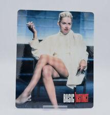 BASIC INSTINCT - Glossy Bluray Steelbook Magnet Magnetic Cover (NOT LENTICULAR)