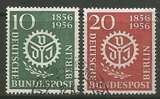 GERMANY-BERLIN. 1956. German Engineers Union Set. SG: B149/50. Fine Used.
