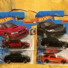 "Hot Wheels ""Turbo Set"" - Impreza - Audi - Range Rover - Mazda RX7 - Set of 4 Car"