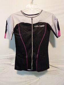Louis Garneau Women's Course Vector Tri Tiathlon Jersey Large Multi/Black