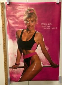 VINTAGE POSTER Michelle Eveland 1989 Workout No. 32 Andy Pearlman Models