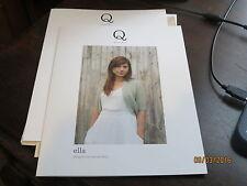"""Q / quince & co. """"Ella"""" by Hannah Fettig"""
