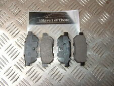 HONDA ACCORD CA CIVIC ED CRX ED/EE INTEGRA DA PRELUDE BA REAR BRAKE PADS