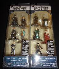 Harry Potter Nano Metalfigs Set of 5 NEW Pack B Dumbledore Malfoy Figures G3