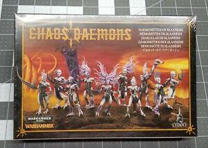 Warhammer 40K CHAOS DAEMONS Daemonettes Of Slaanesh Games Workshop