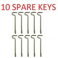 5-PK SPARE KEYS for KWIKSET INTERIOR BED BATH KNOBS EMERGENCY KEY 81087-001
