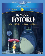 My Neighbor Totoro Two-Disc Blu-ray/DVD Combo Disney Studio Ghibli Film Away New