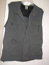 New listing Columbia Men's Medium Md Titanium Omni Dry Cargo Full-Zip Vest Stone Gray Euc