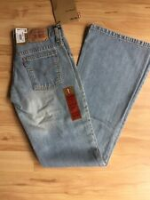 NWT Vintage Levi Strauss Womens 985 Low Tight Flare Faded Blue Jeans W25 L33