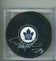 Felix Potvin Toronto Maple Leafs Signed Autographed Puck