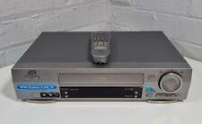 More details for jvc hr-j770 vhs vcr video cassette player recorder & remote - b.e.s.t video+