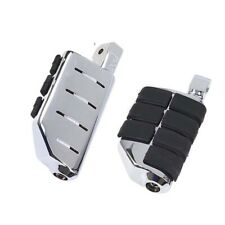 1 Pair Chrome Foot Pegs Rest Footrest For Harley-Davidson Motorcycle Touring