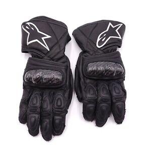 Alpinestars Carbon Fiber SP-2 V2 Gloves Size Small 8