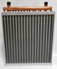 18x18 Water to Air Heat Exchanger Hot Water Coil Outdoor Wood Furnace
