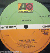 """TRAMMPS - Looking For You ~ 12"""" Single"""