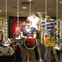 Removable Merry Christmas Gift Wall Window Sticker Decal XMAS Home Shop   & US