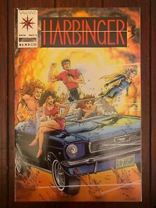 Harbinger #1 1992 (& #2-4) Valiant 1st print with coupon Stunning Copy NM 9.4!