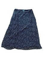 Kingfield Charles Vogele Size 16 (EUR 42) Maxi Polka Dot Skirt Lined