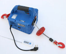 500kgx7.6m Portable Household Electric Winch Wire/wireless Control 220v