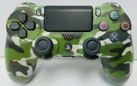Green Camouflage Wireless Controller DualShock 4 for Sony PlayStation 4