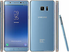 "SAMSUNG Galaxy Note Fe Fan Edition N935 Note 7 Blue 64GB 5.7"" Cell Phone"