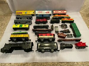 Lot of Miscellaneous HO and Marx Trains, Engines, Parts, etc. - Almost 7 pounds!