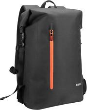 ENKEEO Waterproof Roll Top Backpack 35L Men & Women Rucksack with safe back Bag
