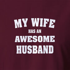 New T-shirt Awesome new husband gift trophy marriage wedding gift for him baby