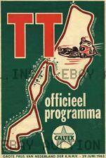 1963 Dutch TT Assen 38th Anniversary Poster Print  ca 8 x 10 print prent poster