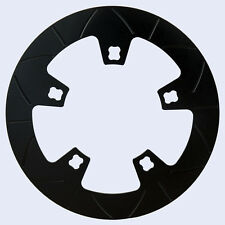 """11.8"""" Lyndall black composite ceramic front rotor for 2014 and up Harley Touring"""