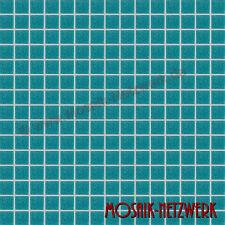 Mosaik türkis grün Glasmosaik Fliese Schwimmbadmosaik Poolmosaik Art:200-A63|1qm