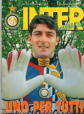 INTER FOOTBALL CLUB=N°5 1995=PAGLIUCA=1965 MAGGIO DI GLORIA=BERGKAMP
