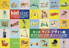 Original Vintage Exhibition Poster Kid Size Japan Suntory Museum Children Toys