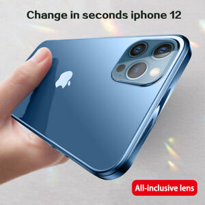 Plating Frame Case For Apple iPhone 12 mini 12 Pro Max 11 Slim Clear Soft Cover