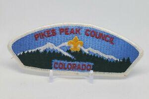 Late 80's Pikes Peak Council Shoulder Patch BSA Boy Scouts