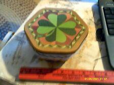 Longaberger St Patrick's shamrock (Basket, Lid, Protector)