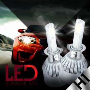 NEW 2x H1 6000K Super White 100W CREE LED Headlight Bulbs Kit Fog Driving Light